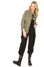 Set |  Military jacket Aivy | green  | Picture 3