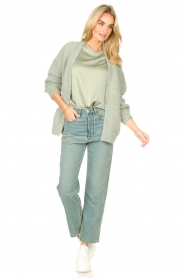 Knit-ted |  Basic top Bibianna | green  | Picture 3