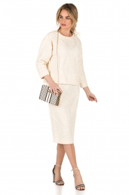 Tara Jarmon |  Pencil skirt Sandy | creme  | Picture 3