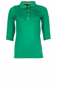 Par 69 |  Golf polo Bien | green  | Picture 1