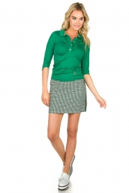 Par 69 |  Golf polo Bien | green  | Picture 3