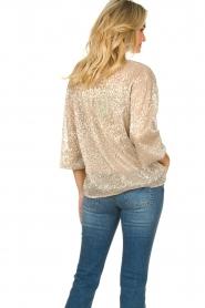 Dante 6 |  Leopard print blouse Lorelie | beige  | Picture 8