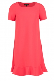 Tara Jarmon |  Dress Corail | coral red  | Picture 1