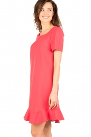 Tara Jarmon |  Dress Corail | coral red  | Picture 4