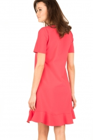 Tara Jarmon |  Dress Corail | coral red  | Picture 5