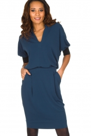 By Malene Birger |  Tailored dress Shumba | dark blue  | Picture 2