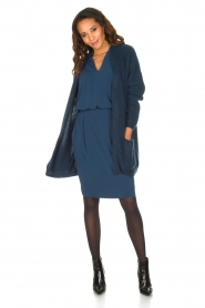 By Malene Birger |  Tailored dress Shumba | dark blue  | Picture 3