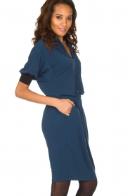 By Malene Birger |  Tailored dress Shumba | dark blue  | Picture 4