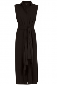 Tara Jarmon |  Midi dress Delphine | black  | Picture 1