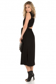 Tara Jarmon |  Midi dress Delphine | black  | Picture 3