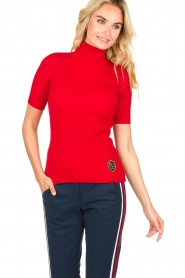Par 69 :  Golf turtleneck top Body | red - img2