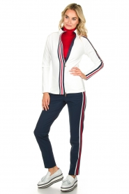 Par 69 :  Golf turtleneck top Body | red - img3