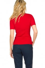 Par 69 :  Golf turtleneck top Body | red - img5