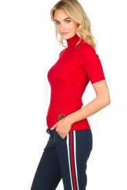 Par 69 :  Golf turtleneck top Body | red - img4
