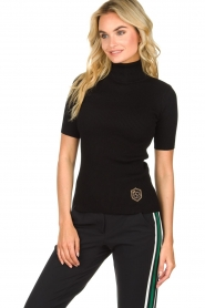 Par 69 |  Golf turtleneck top Body | black  | Picture 2