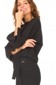 D-ETOILES CASIOPE |  Travelwear jumpsuit Blossom | black  | Picture 8