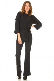 D-ETOILES CASIOPE |  Travelwear jumpsuit Blossom | black  | Picture 4