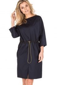 Tara Jarmon |  Tunic dress Leoni | blue  | Picture 2