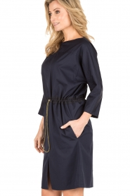 Tara Jarmon |  Tunic dress Leoni | blue  | Picture 4