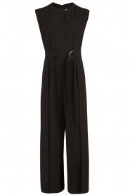 Tara Jarmon | Flared jumpsuit Mila | zwart  | Afbeelding 1