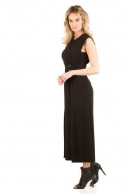 Tara Jarmon | Flared jumpsuit Mila | zwart  | Afbeelding 4