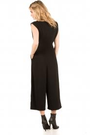 Tara Jarmon | Flared jumpsuit Mila | zwart  | Afbeelding 5