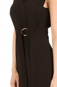 Tara Jarmon | Flared jumpsuit Mila | zwart  | Afbeelding 6