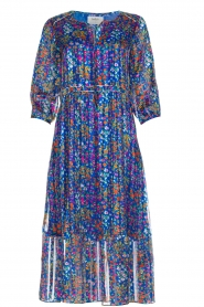 ba&sh |  Dress with floral print Reese |  blue  | Picture 1