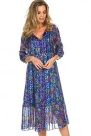 ba&sh |  Dress with floral print Reese |  blue  | Picture 5