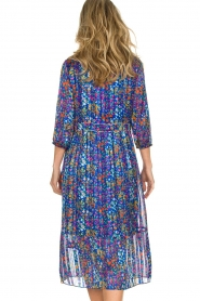 ba&sh |  Dress with floral print Reese |  blue  | Picture 7