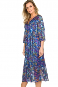 ba&sh |  Dress with floral print Reese |  blue  | Picture 6