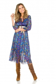 ba&sh |  Dress with floral print Reese |  blue  | Picture 3