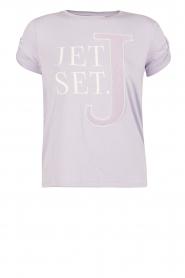 NIKKIE | T-shirt Jetset | lila  | Afbeelding 1