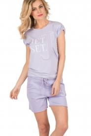 NIKKIE | T-shirt Jetset | lila  | Afbeelding 4