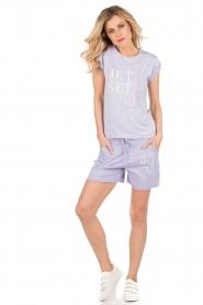 NIKKIE | T-shirt Jetset | lila  | Afbeelding 3
