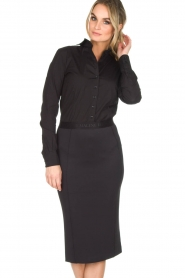 By Malene Birger |  Pencil skirt Onikka | black  | Picture 2