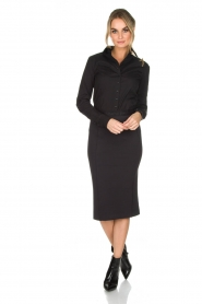 By Malene Birger |  Pencil skirt Onikka | black  | Picture 3