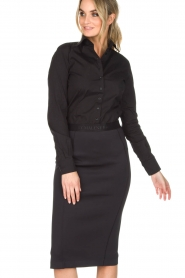 By Malene Birger |  Pencil skirt Onikka | black  | Picture 4