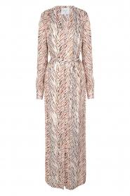 Dante 6 |  Zebra print maxi dress Loras | natural  | Picture 1