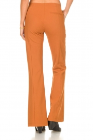 D-ETOILES CASIOPE |  Travelwear flair trousers Rodez | camel  | Picture 6