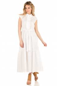 Tara Jarmon |  Maxi dress Sabrina | white  | Picture 2