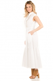Tara Jarmon |  Maxi dress Sabrina | white  | Picture 4
