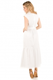 Tara Jarmon |  Maxi dress Sabrina | white  | Picture 5