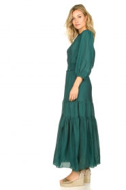 Dante 6 |  Maxi dress with ruffles Marais | green  | Picture 4