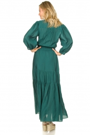 Dante 6 |  Maxi dress with ruffles Marais | green  | Picture 5