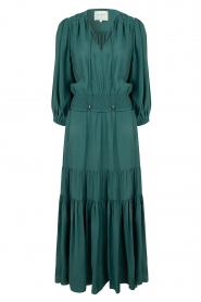 Dante 6 |  Maxi dress with ruffles Marais | green  | Picture 1