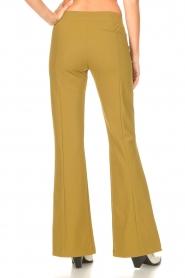 D-ETOILES CASIOPE | Travelwear flared broek Rodez | groen  | Afbeelding 7