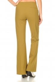 D-ETOILES CASIOPE | Travelwear flared broek Rodez | groen  | Afbeelding 6