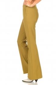 D-ETOILES CASIOPE | Travelwear flared broek Rodez | groen  | Afbeelding 5