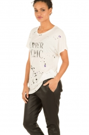 T-shirt Upper Chic | white